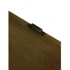 Quadro Porta Rolhas de Vinho Uvas – MDF 33x28cm