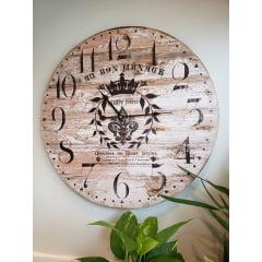 Relógio De Parede Charpy Freres – MDF 58cm
