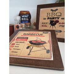 Descanso de Panelas Kit 2 peças Barbecue